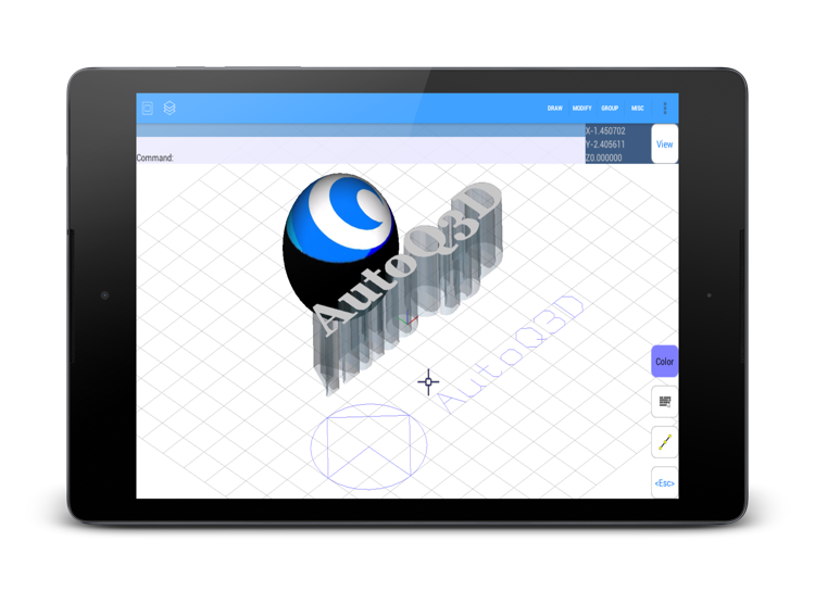 Effortless Cad Editor For Android